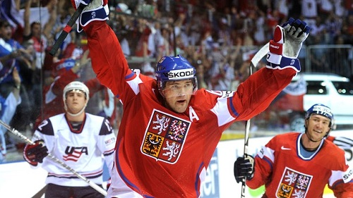 Czech Republic star Jaromir Jagr expects several surprises for the upcoming Olympic hockey tournament.  (Photo by Samuel Kubani/Getty Images)