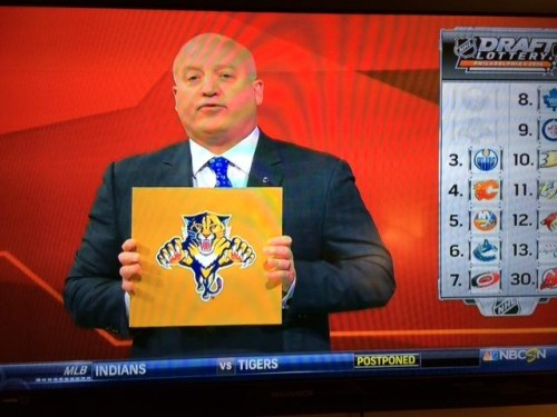 Photo of Florida Panthers win 1st overall pick in 2014 NHL Draft lottery