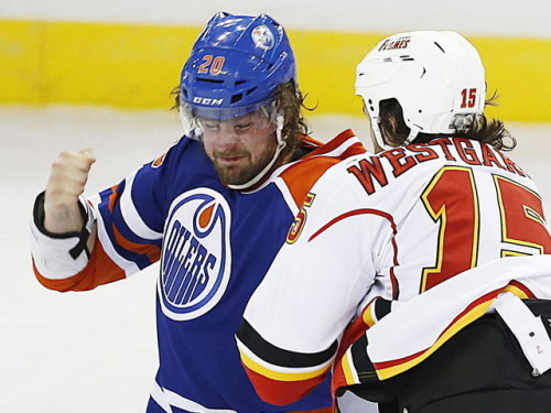 Photo of The Role of Enforcers: Luke Gazdic in Edmonton