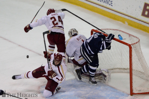 Photo of Boston College and New Hampshire skate to 2-2 tie