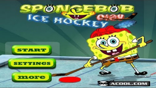 SpongeBob Squarepants Ice Hockey