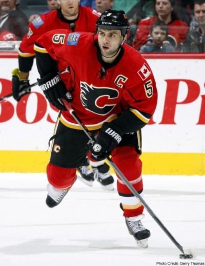 Flames' Captain Mark Giordano. (Gerry Thomas)