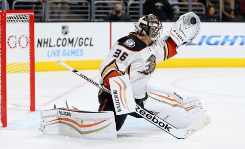 Photo of December's Rookie of the Month, John Gibson, gets NHL All-Star Debut