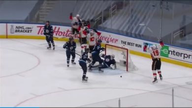 Photo of WATCH: Every GOAL from Game 4 between Calgary Flames vs Winnipeg Jets (Stanley Cup Qualifiers)