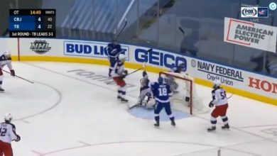 Photo of EVERY GOAL from Game 5 between Columbus Blue Jackets vs Tampa Bay Lightning (Stanley Cup Playoffs Round 1)