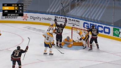 Photo of WATCH: Every GOAL from Game 4 between Nashville Predators vs Arizona Coyotes (Stanley Cup Qualifiers)