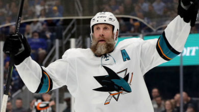 Photo of Breaking News: Joe Thornton signs with the Toronto Maple Leafs