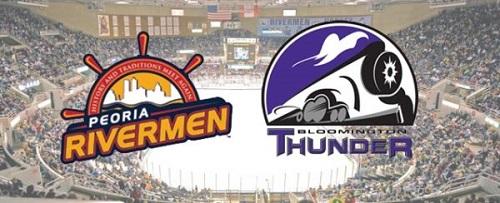 Photo of Blackhawks partner with Thunder, Rivermen