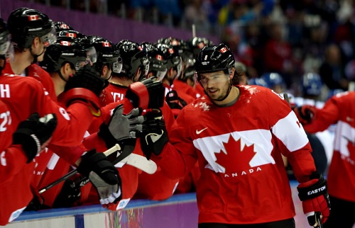 Photo of Doughty Strong in Canadian Victory