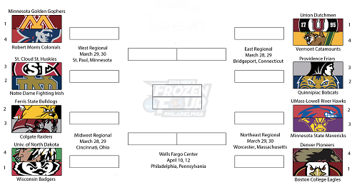Photo of 2014 NCAA Division I Men's Ice Hockey Tournament Preview