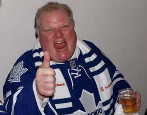 That was my first and last Rob Ford joke, scout's honour.