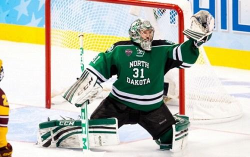 Photo of Zane Gothberg Skates With The Boston Bruins But Is Still Focused On North Dakota