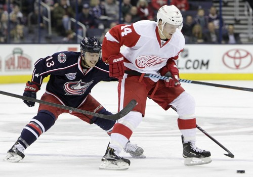 Photo of Three Things: Columbus Blue Jackets vs Detroit Red Wings 11/19/14