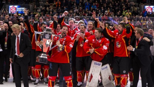 Photo of Luleå crowned CHL champions with dramatic comeback