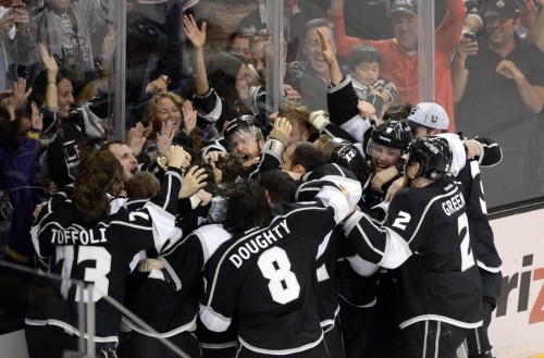 The Los Angeles Kings are ready for the 2015-16 season. (Richard Mackson-USA TODAY Sports)