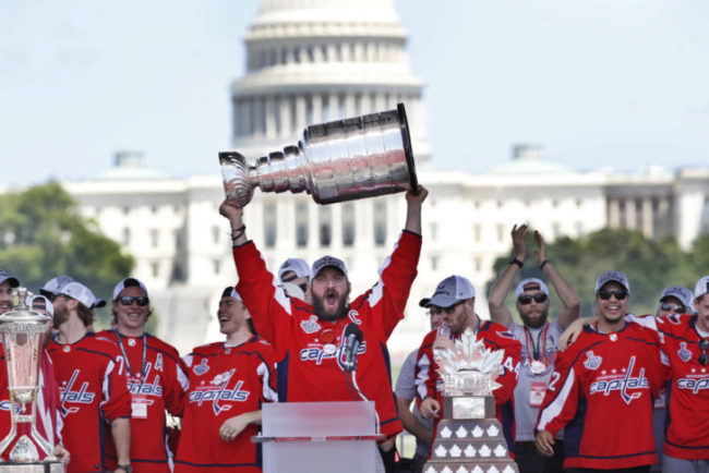 Photo of Washington Capitals recap and top social media posts from 2018 Stanley Cup parade